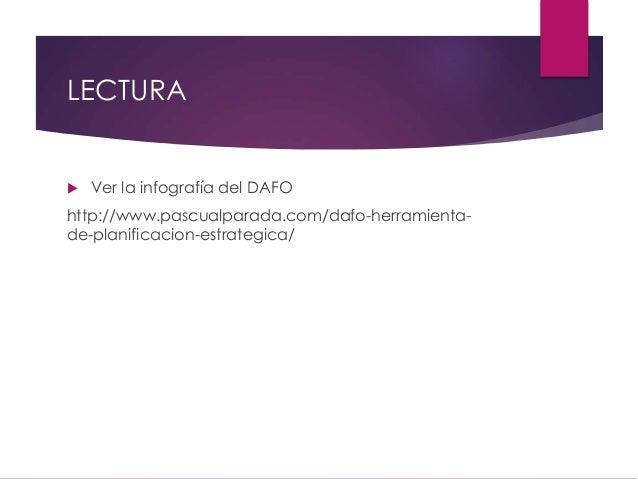 Presentación herramienta de análisis DAFO