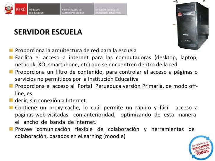 PROCEDIMIENTO DE GARANTIASsegún oficio múltiple Nº 079-2011/ME/VMGP/DIGETE los equipos y materialestecnológicos destinados...