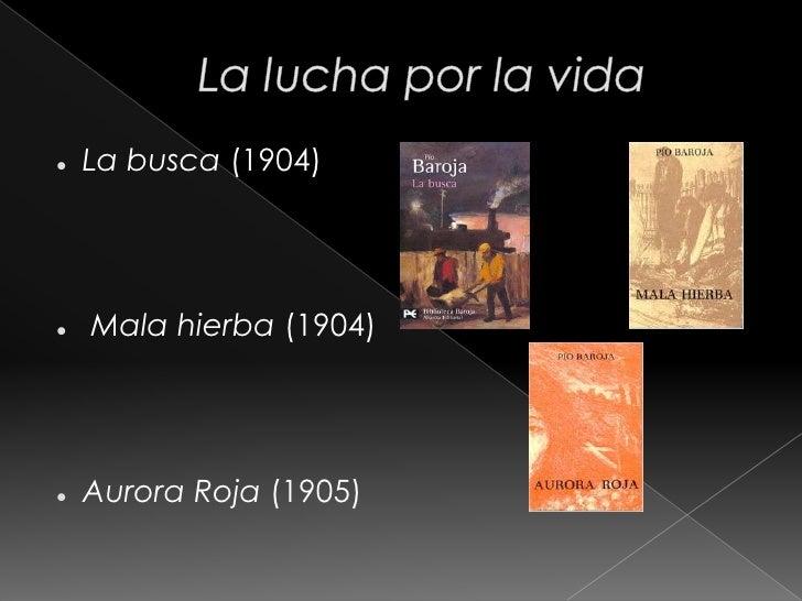 La dama errante      (1908)       La ciudad de la      niebla (1909)       El árbol de la ciencia      (1911)