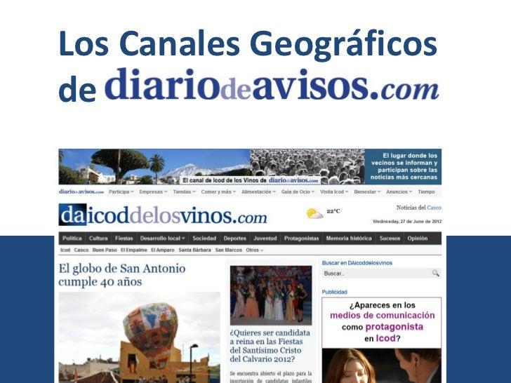 Los Canales Geográficosde