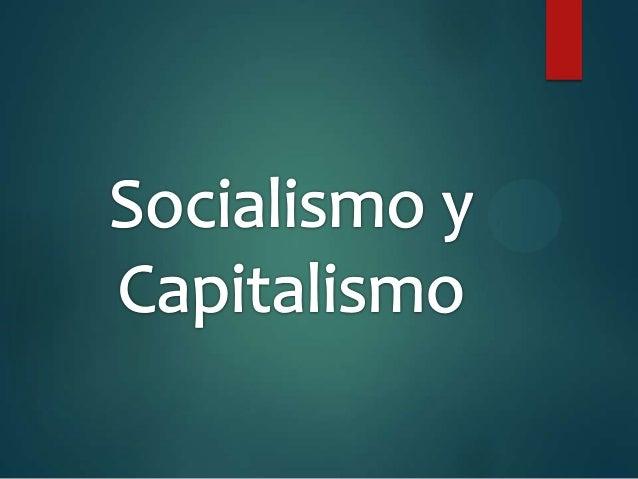 Qué es el capitalismo.   Es un sistema económico, social y político que se basa en la propiedad privada de los medios de ...