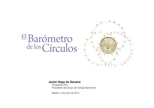 Presentación de El Barómetro de los Círculos