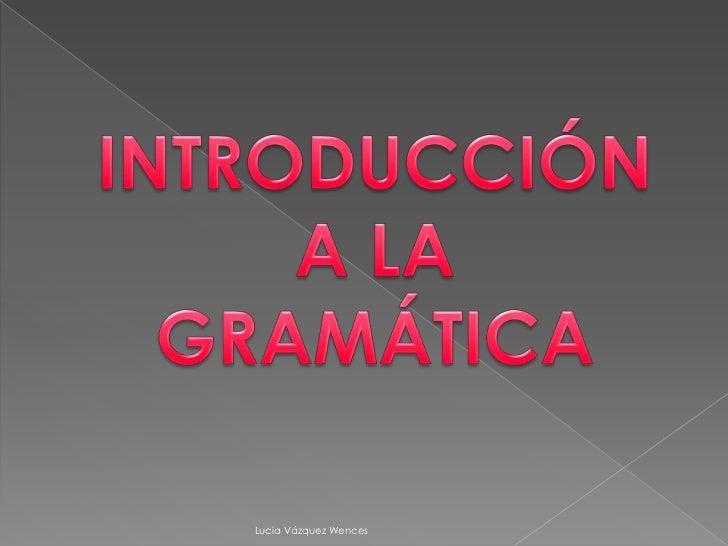 Presentación de español