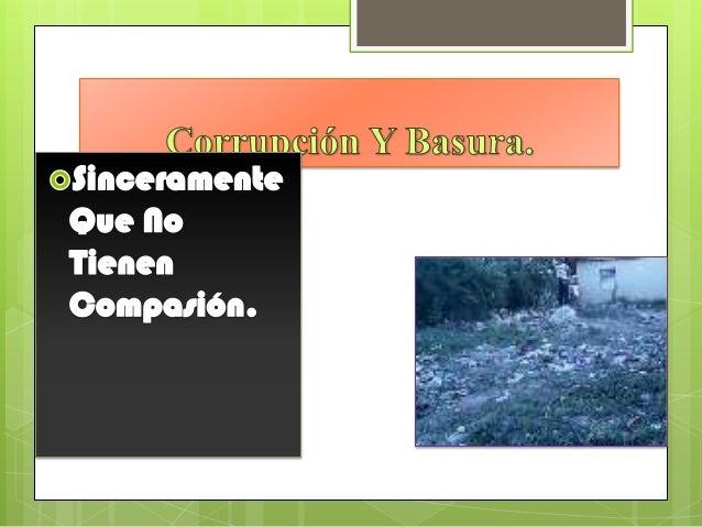 fotos sobre basura ne los guaricanos