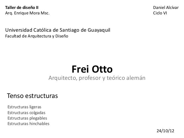 Taller de diseño II                                           Daniel AlcívarArq. Enrique Mora Msc.                        ...