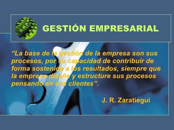 Presentación de gerencia de los procesos organizativos Slide 2