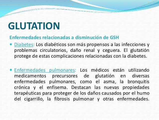 Presentación de glutation