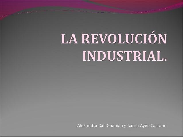 Alexandra Cali Guamán y Laura Ayén Castaño.