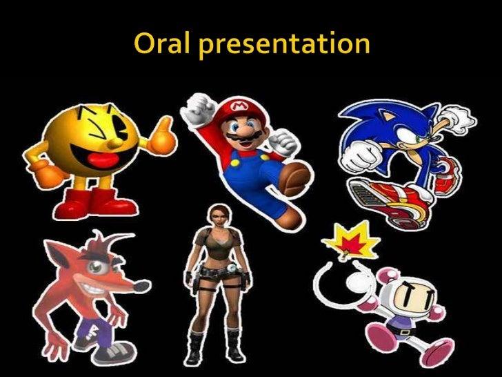 Oral presentation <br />