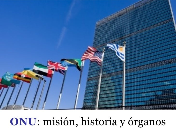 Aspectos generales de la ONU