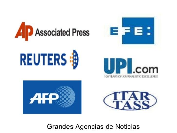 Grandes Agencias de Noticias