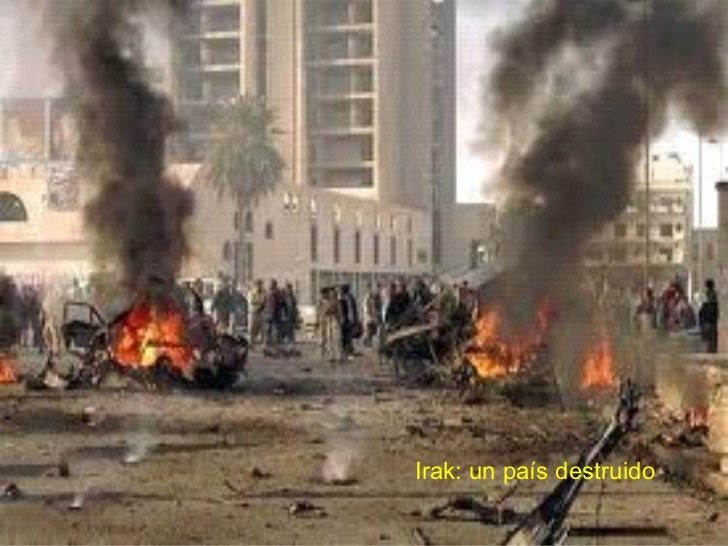 Irak: un país destruido