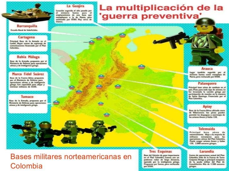 Bases militares norteamericanas en Colombia