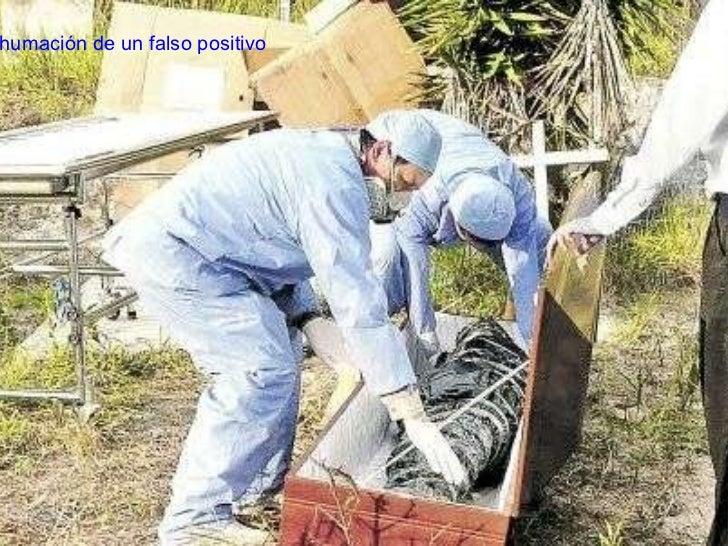 Exhumación de un falso positivo
