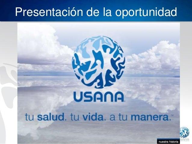 Presentación de la oportunidad