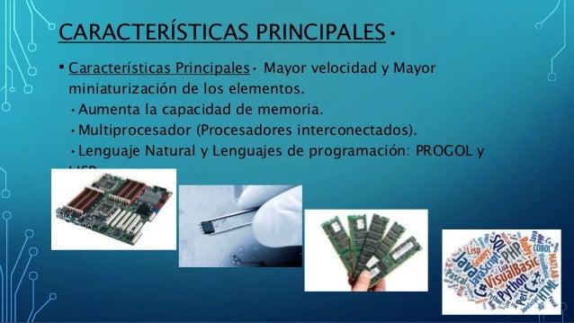 Presentaci U00f3n De La Quinta Generaci U00f3n De Computadoras