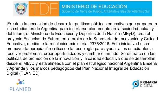 Se propone, en este sentido, propiciar la alfabetización digital de los estudiantes, a través de la integración de áreas d...