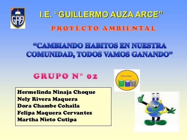 Presentaci N Del Proyecto Comunitario