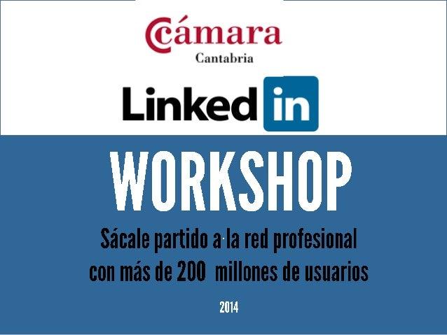Taller de LinkedIn de Esmeralda diaz-Aroca