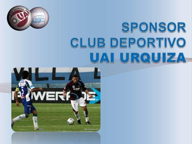 El Club Deportivo UAI Urquiza surge de la fusión entre el Club Deportivo UAI con el ClubDeportivo, Social y Cultural Ferro...