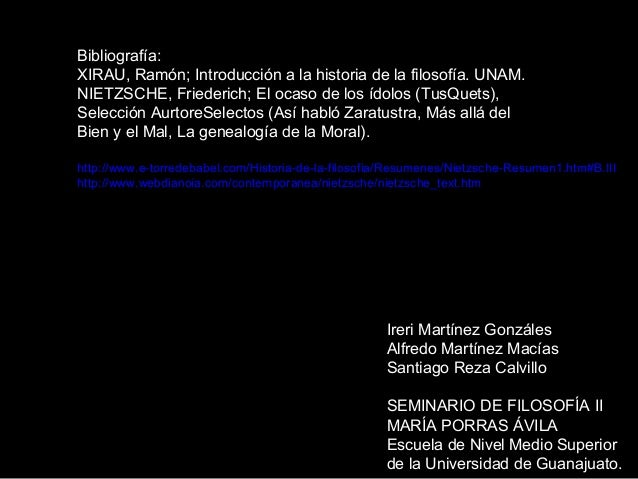 Ireri Martínez Gonzáles Alfredo Martínez Macías Santiago Reza Calvillo SEMINARIO DE FILOSOFÍA II MARÍA PORRAS ÁVILA Escuel...