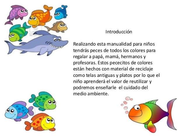 Presentaci n de peces for Cuidado de peces