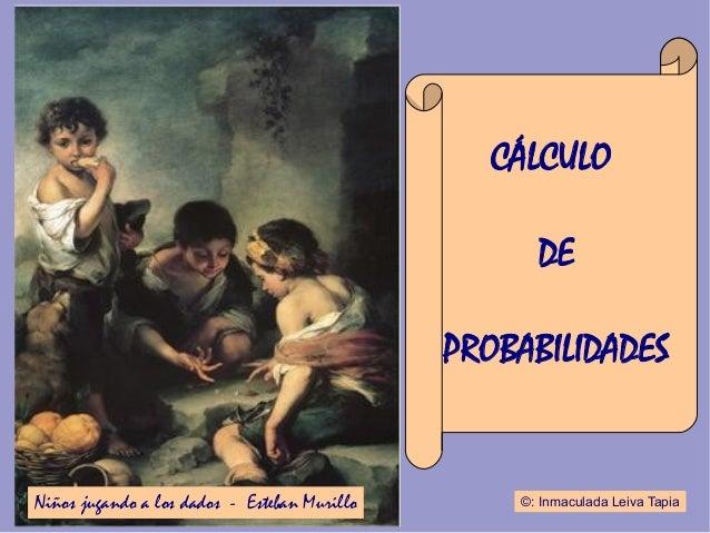 CÁLCULO                                                    DE                                              PROBABILIDADESN...