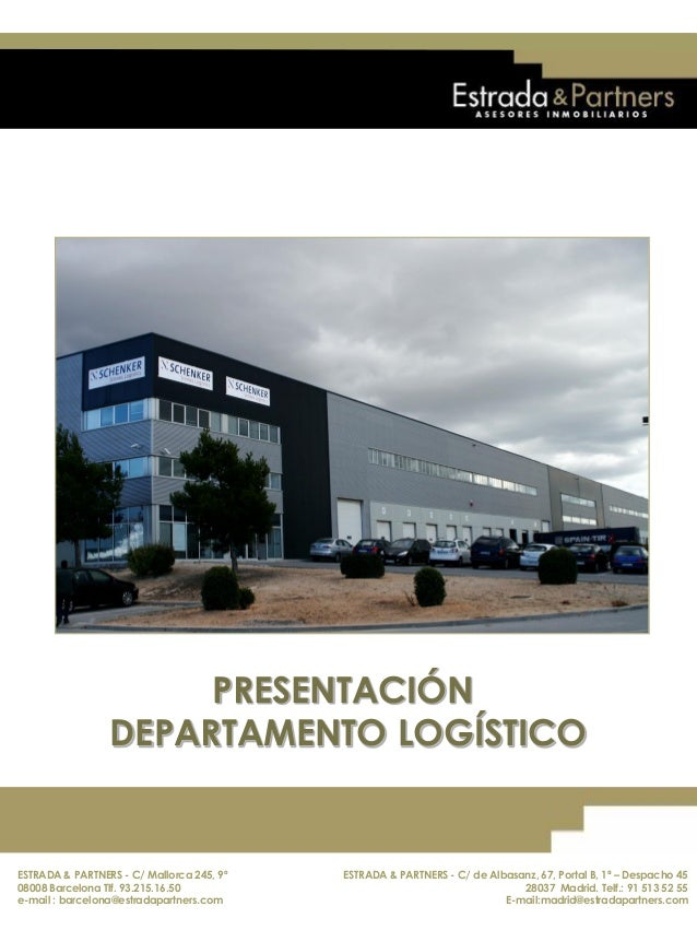 ESTRADA & PARTNERS - C/ Mallorca 245, 9º 08008 Barcelona. Telf.: 93.215.16.50 E-mail : barcelona@estradapartners.com ESTRA...