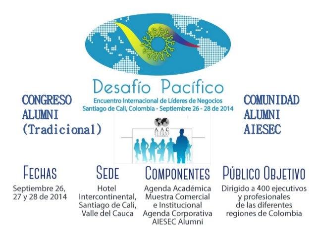 Presentación Desafío Pacífico 2014 - Cali, sep 2014 Slide 3