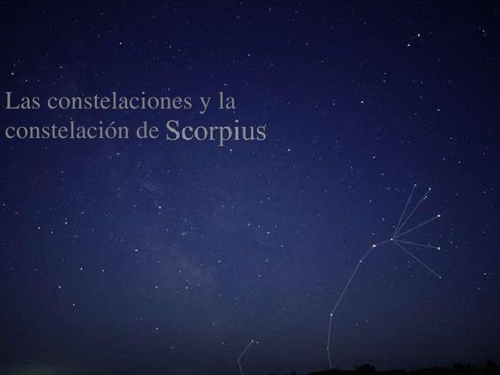 Las constelaciones y laconstelación de