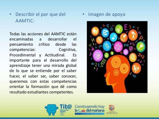 Presentación de socializacion aamtic Slide 3