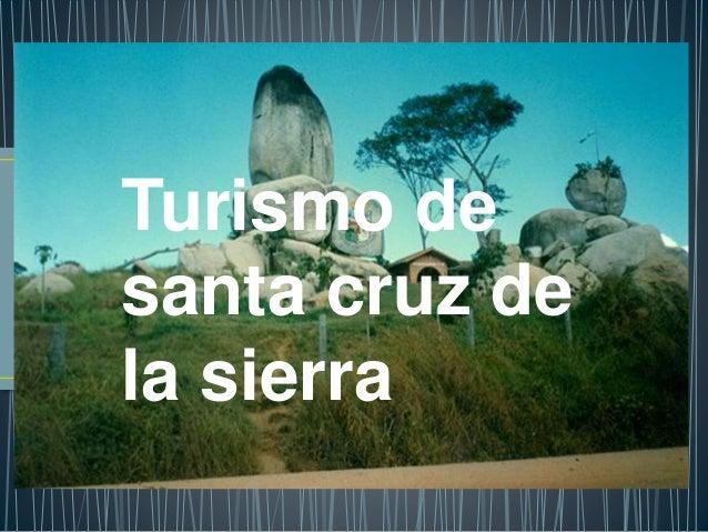 Turismo de santa cruz de la sierra