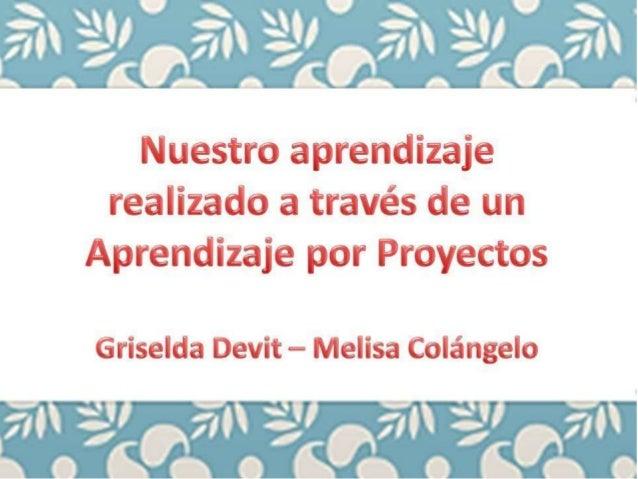 Aprendizaje por Proyecto - Trabajo Final DEVIT -COLÁNGELO