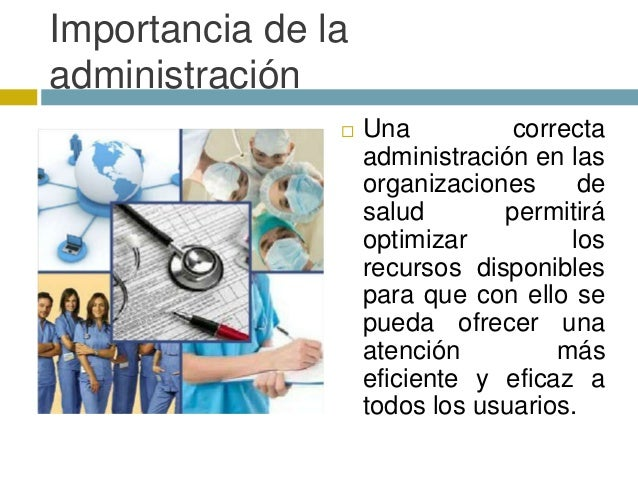 Analisis de la administraci n del hospital general de cholula for Importancia de la oficina
