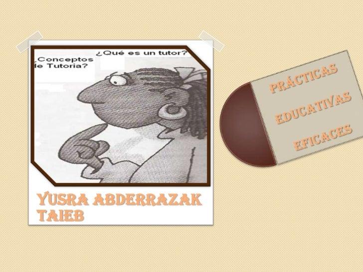 YUSRA ABDERRAZAK <br />TAIEB<br />