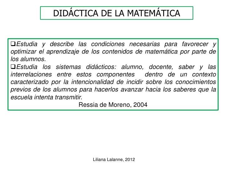 DIDÁCTICA DE LA MATEMÁTICAEstudia y describe las condiciones necesarias para favorecer yoptimizar el aprendizaje de los c...