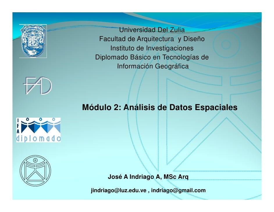Universidad Del Zulia    Facultad de Arquitectura y Diseño        Instituto de Investigaciones   Diplomado Básico en Tecno...
