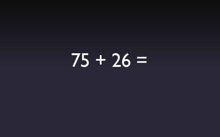no son cálculos taaan difíciles…           ¿verdad?   solamente un par más…