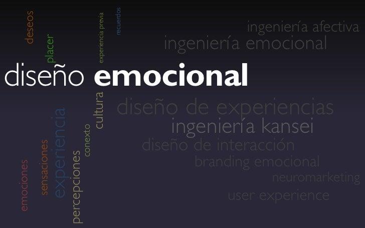 """diseño emocional                                                        interdisciplina""""Diseño, enfocado en la relación us..."""