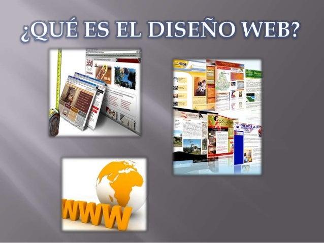 El diseño web es una actividad que consiste en la planificación, diseñoe implementación de sitios web y páginas web. No es...