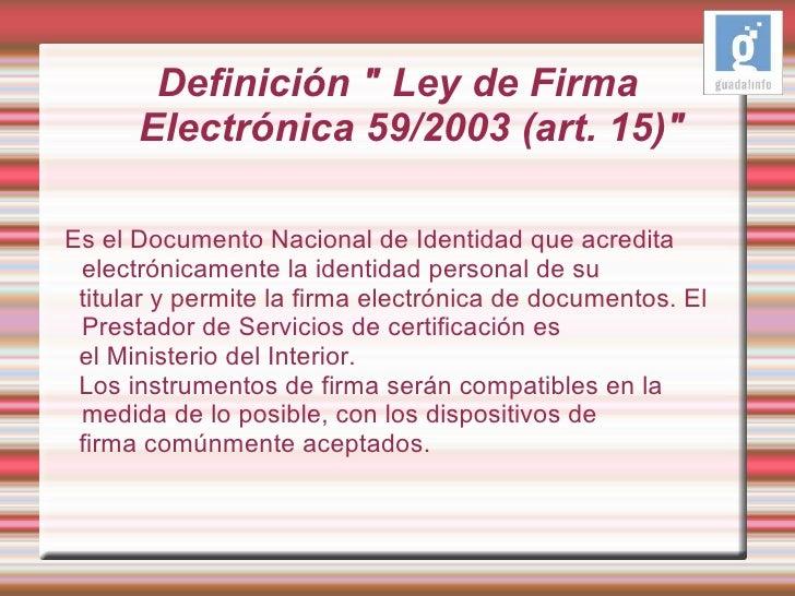 Presentaci n dni e for Ministerio del interior dni