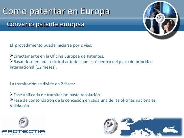C mo registrar marcas y patentes en europa for Oficina europea de patentes