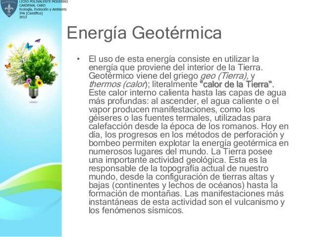 Ecolog a evoluci n y ambiente 3 a - En que consiste la energia geotermica ...