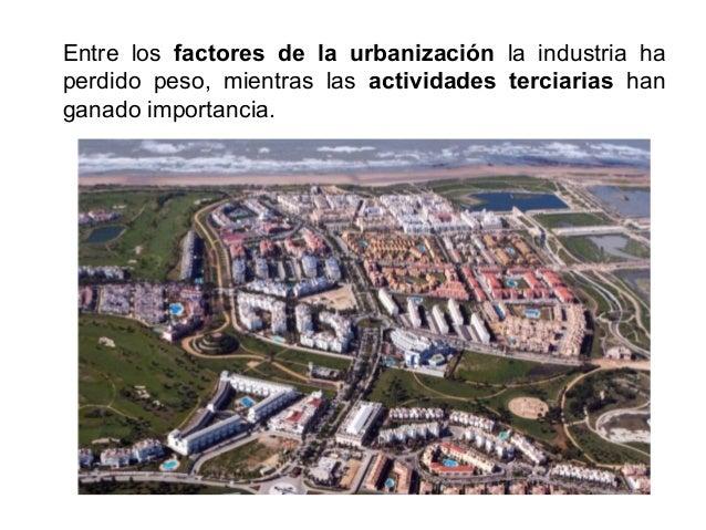 3. La morfología urbana.