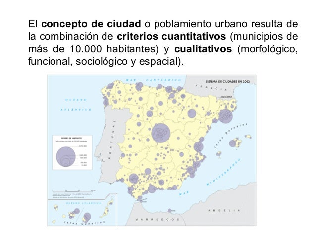 Según su forma (criterio morfológico) una ciudad presenta poblamiento concentrado, alta densidad de edificación y població...