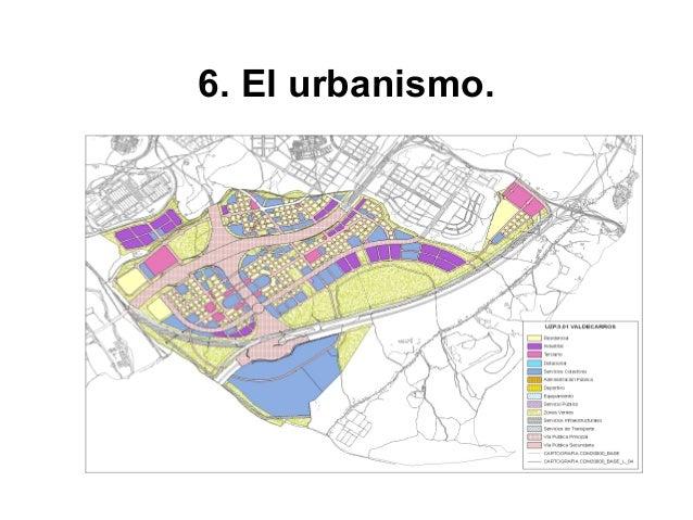 En la época postindustrial (desde 1975) el urbanismo español muestra la implantación del estado de las autonomías (pues es...