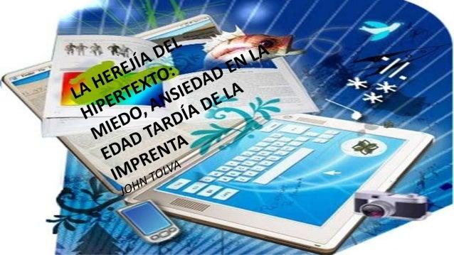 Los últimos años del siglo XX son los de los incunables digitales. La tecnología aplicada se ha establecido en los medios ...