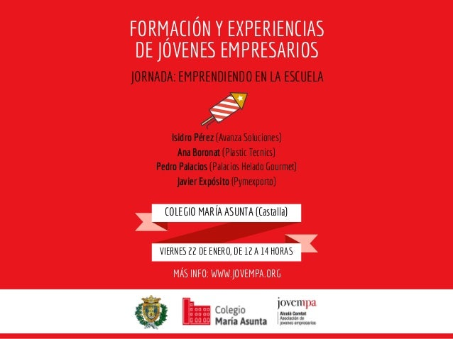 Isidro Pérez (Avanza Soluciones) Ana Boronat (Plastic Tecnics) Pedro Palacios (Palacios Helado Gourmet) Javier Expósito (P...