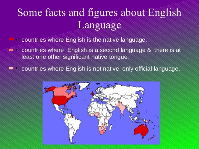 Presentación English Around The World - 5 main languages of the world