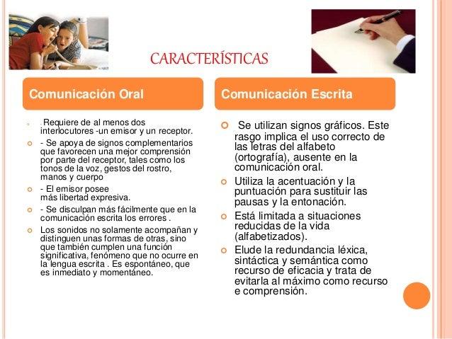 Presentación en power point comunicación oral y escrita